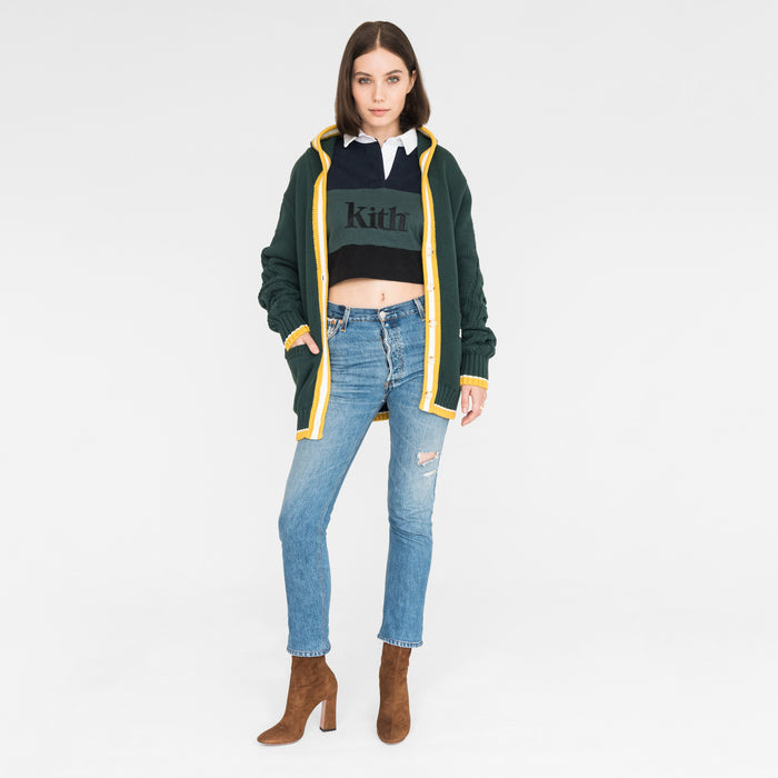 Kith Women Kinzey Cardigan - Green Gables