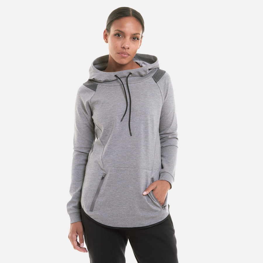 Kith Jaden Hoody - Heather Grey