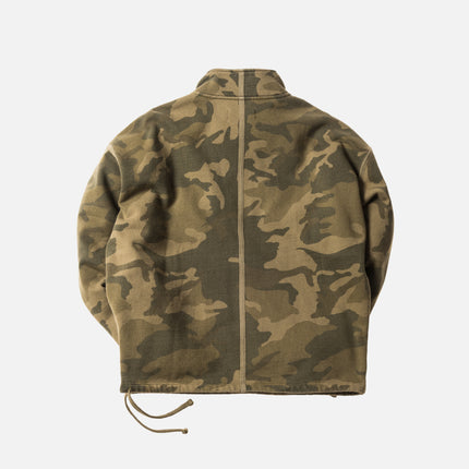 Kith Classic Half-Zip Pullover - Woodland Camo
