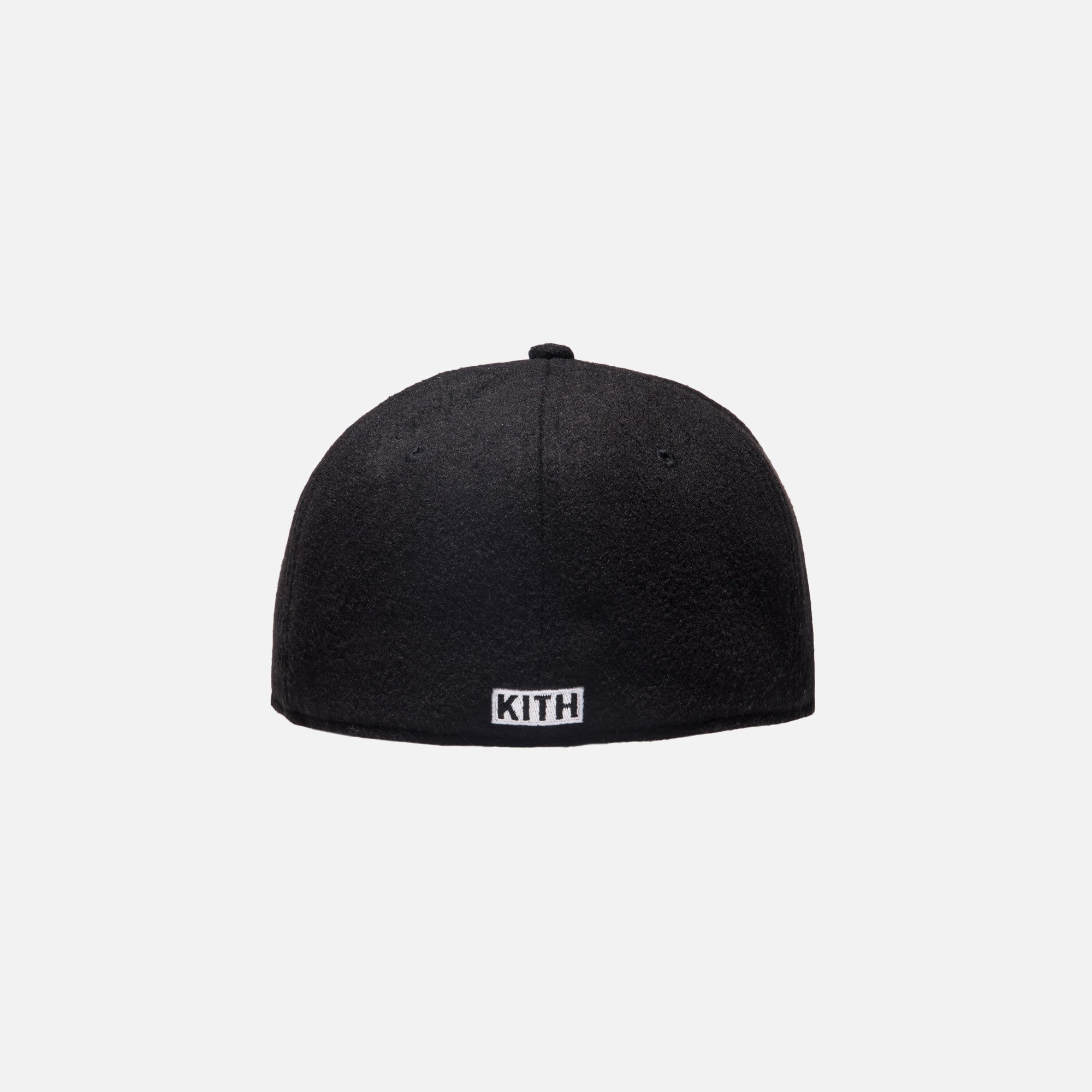 Kith Wool Fitted Cap - Black