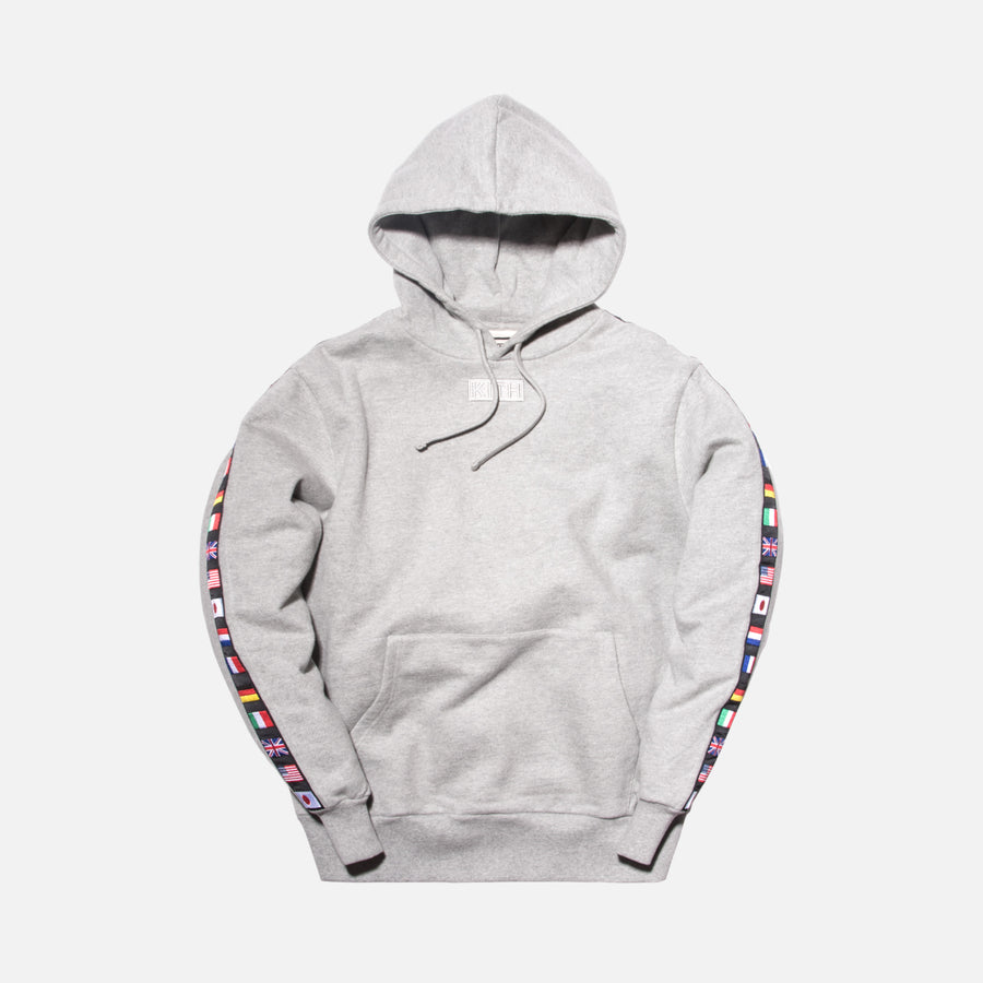 Kith World Fair Hoodie - Heather Grey