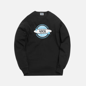 Kith Worldwide L/S Tee - Black