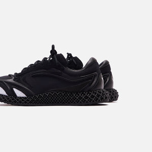 Y-3 Runner 4D - Black / Footwear White Image 5