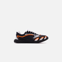 Y-3 Runner 4D - Black / Orange / Silver Thumbnail 1