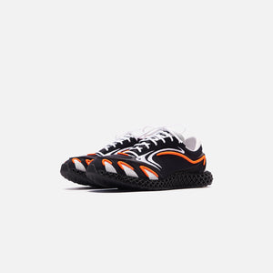 Y-3 Runner 4D - Black / Orange / Silver Image 2
