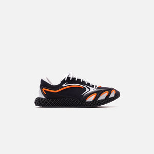 Y-3 Runner 4D - Black / Orange / Silver Image 1