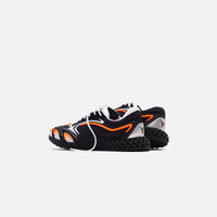 Y-3 Runner 4D - Black / Orange / Silver Thumbnail 5