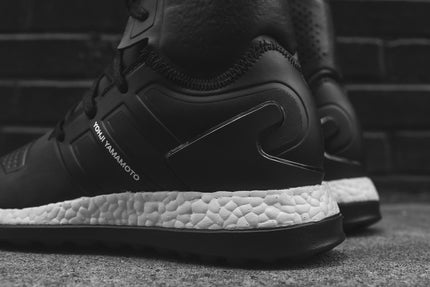Y-3 Pure Boost ZG High - Black / White