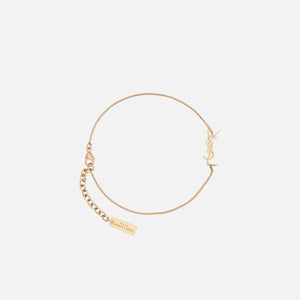 Saint Laurent YSL Thin Bracelet - Gold
