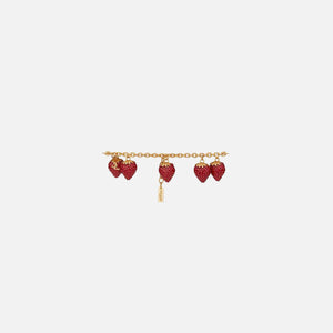 Saint Laurent Strawberry Bracelet - Gold