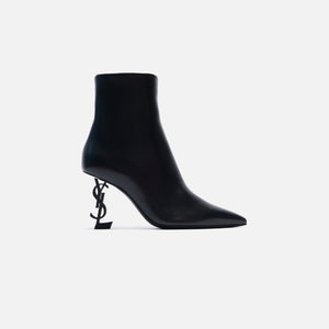 Saint Laurent Opyum Bootie Heel Arch 85MM - Black