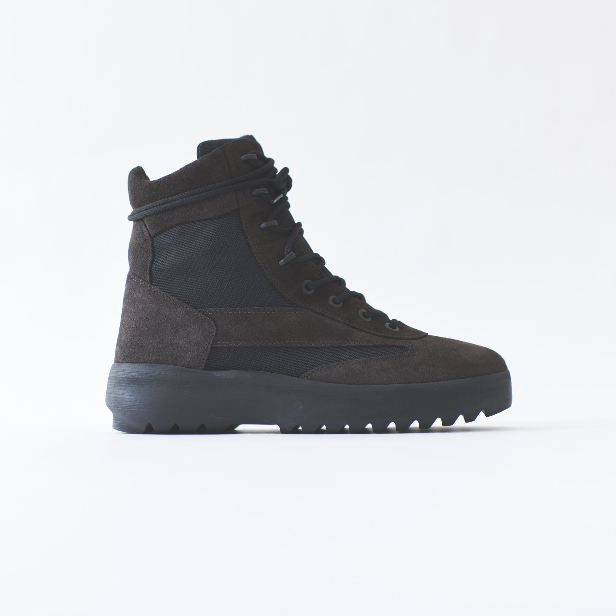 Yeezy Mens Suede Military Boot - Oil