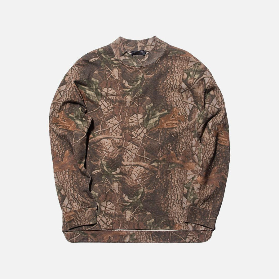 Yeezy Moto Long Sleeve - Brown Camo