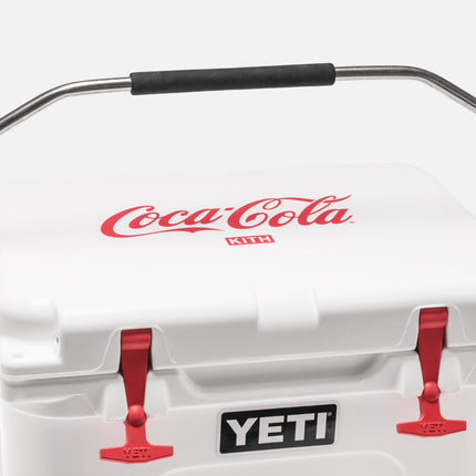 Kith x Coca-Cola x Yeti Roadie 20 Hard Cooler