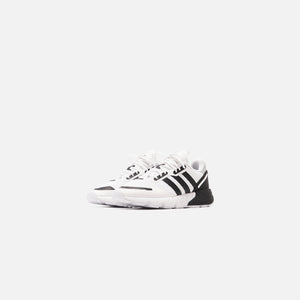 adidas ZX 1K Boost Junior - Footwear White / Core Black / Halo Silver