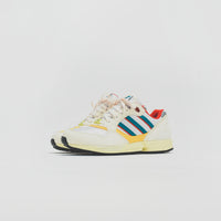 adidas Consortium ZX 6000 - Creme / Red / Yellow Thumbnail 1