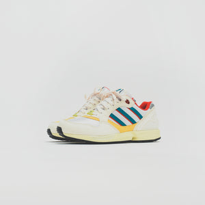 adidas Consortium ZX 6000 - Creme / Red / Yellow Image 2