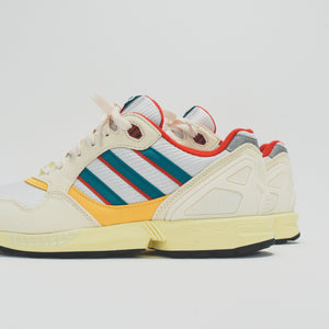 adidas Consortium ZX 6000 - Creme / Red / Yellow Image 4