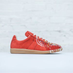 Maison Margiela Mix Painter Replica Sneaker - Red