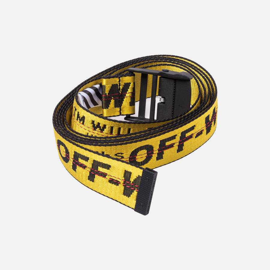 Off-White Industrial Belt - Yellow