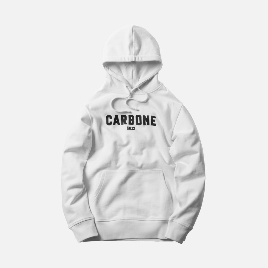 Kith x Carbone Hoodie - White