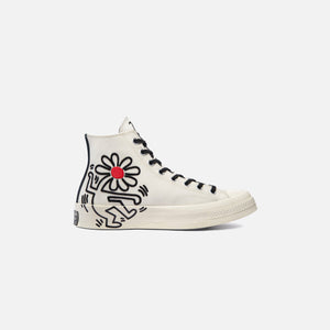 Converse x Keith Haring Chuck 70 High - Egret / Black / Red