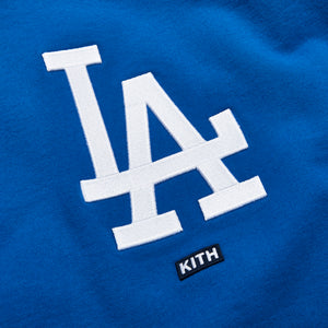 Kith for Major League Baseball Los Angeles Dodgers Crewneck - Royal