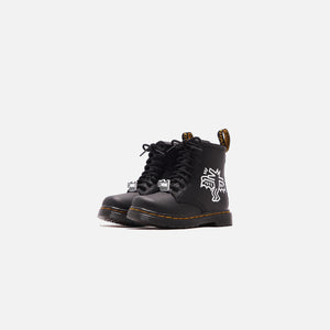 Dr. Martens x Keith Haring Toddler 1460 Hydro - Black / White