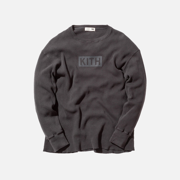 Kith Classics x Calux Waffle Thermal - Faded Black