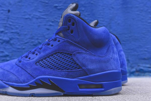 Nike GS Air Jordan 5 - Royal / Black