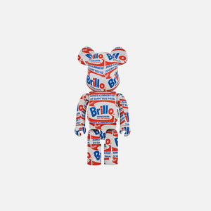 BearBrick Andy Warhol Brillo 1000%