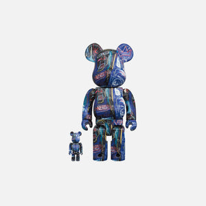 BearBrick Jean Michel Basquiat #7 400% + 100%