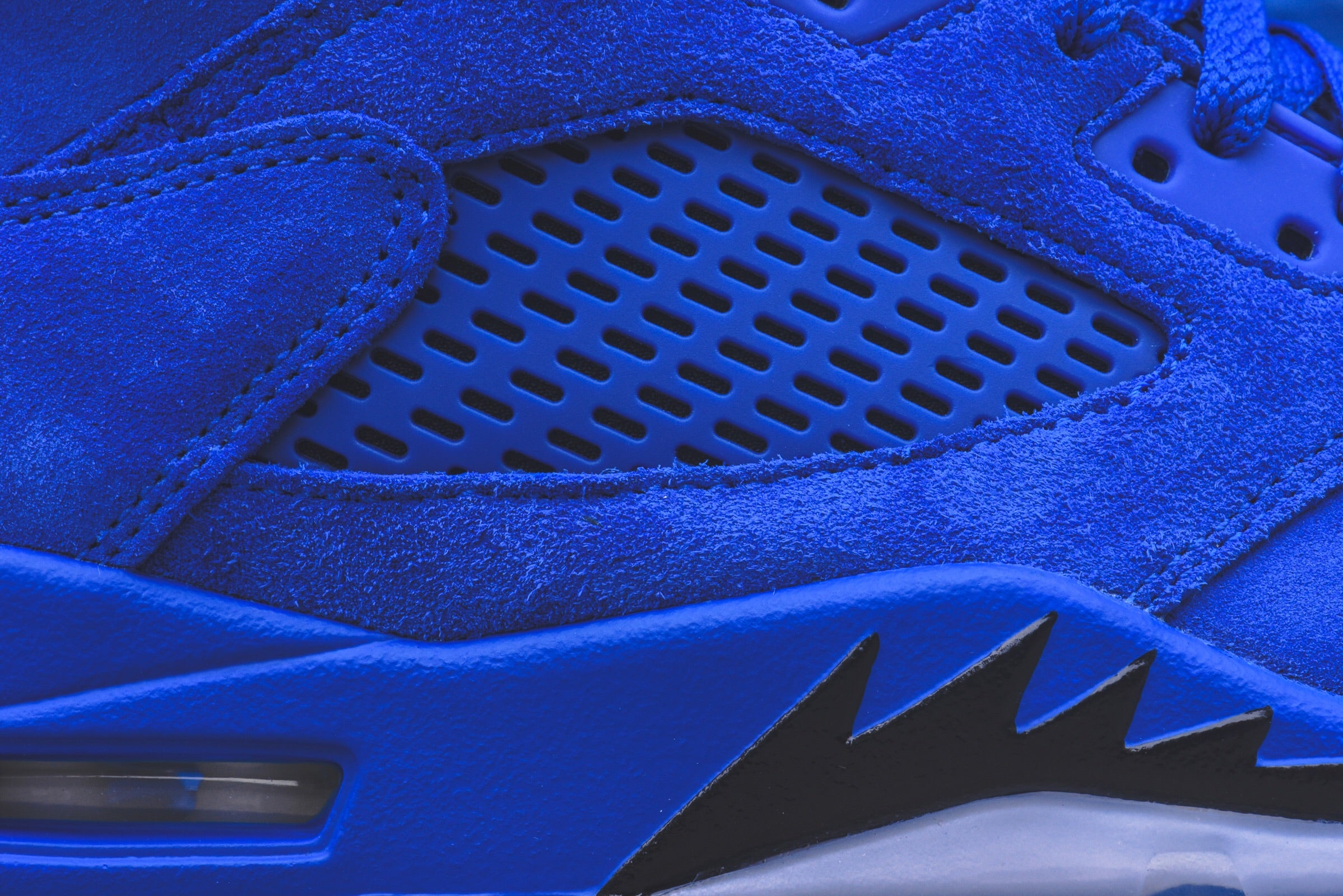 Nike Air Jordan 5 Retro - Royal / Black