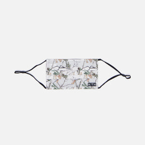 Kith Pine Tree Camo Washable Face Mask - White