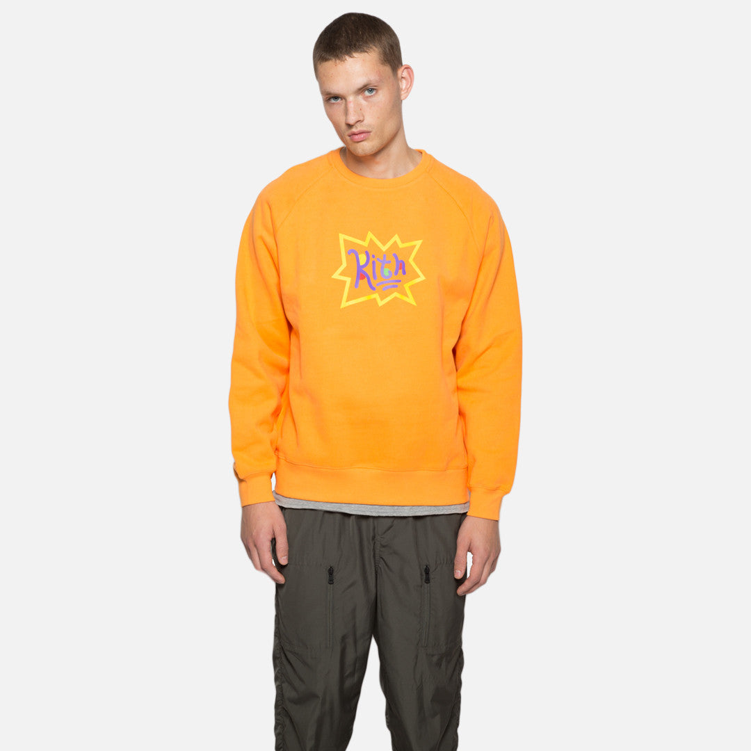 Kith x Rugrats Crewneck - Orange