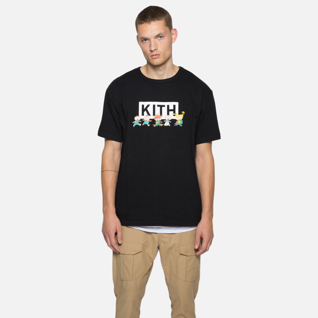 Kith x Rugrats Chase Tee - Black