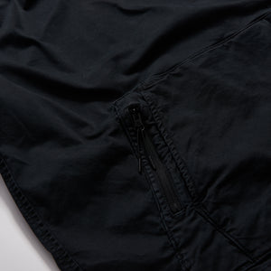 Kith Convertible Double Pocket Hoodie - Soft Black