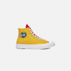 Converse x Golf Wang Tri Panel Chuck 70 High - Blue / Yellow / Red