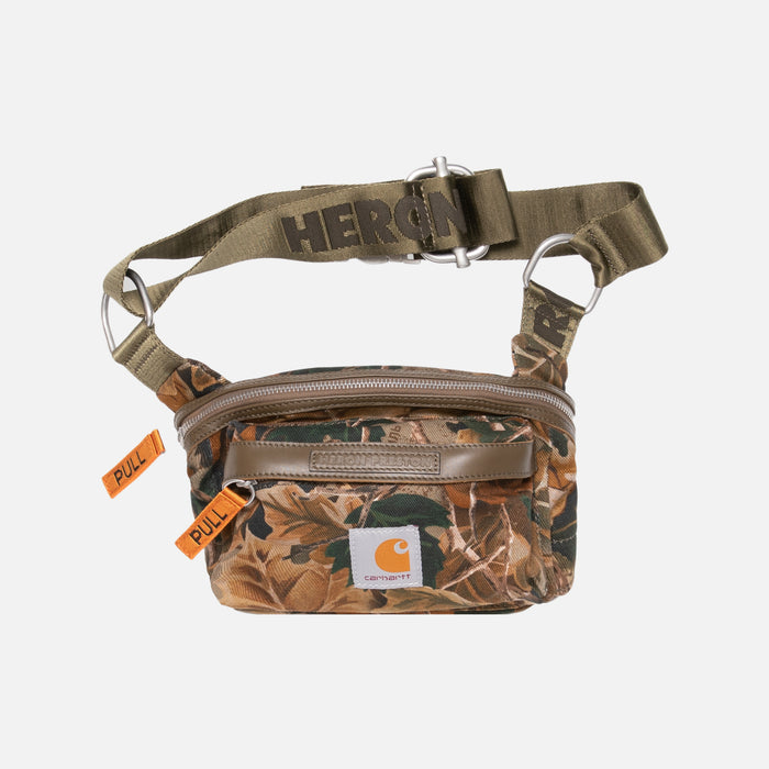 Heron Preston x Carhartt Fanny Pack - Camo / Orange
