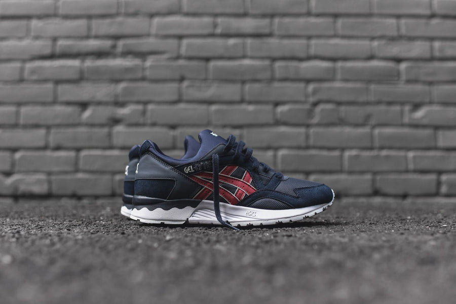 Asics Gel Lyte V - Navy / Burgundy