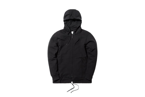 Public School Sakka Zip-Up Hoody - Black
