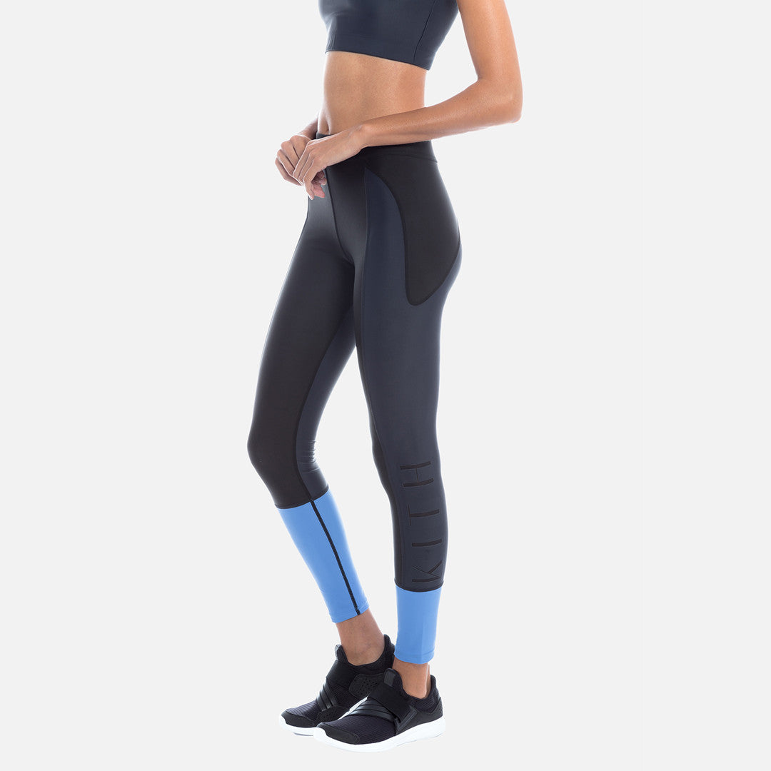 Kith Jay Legging - Blue / Rose