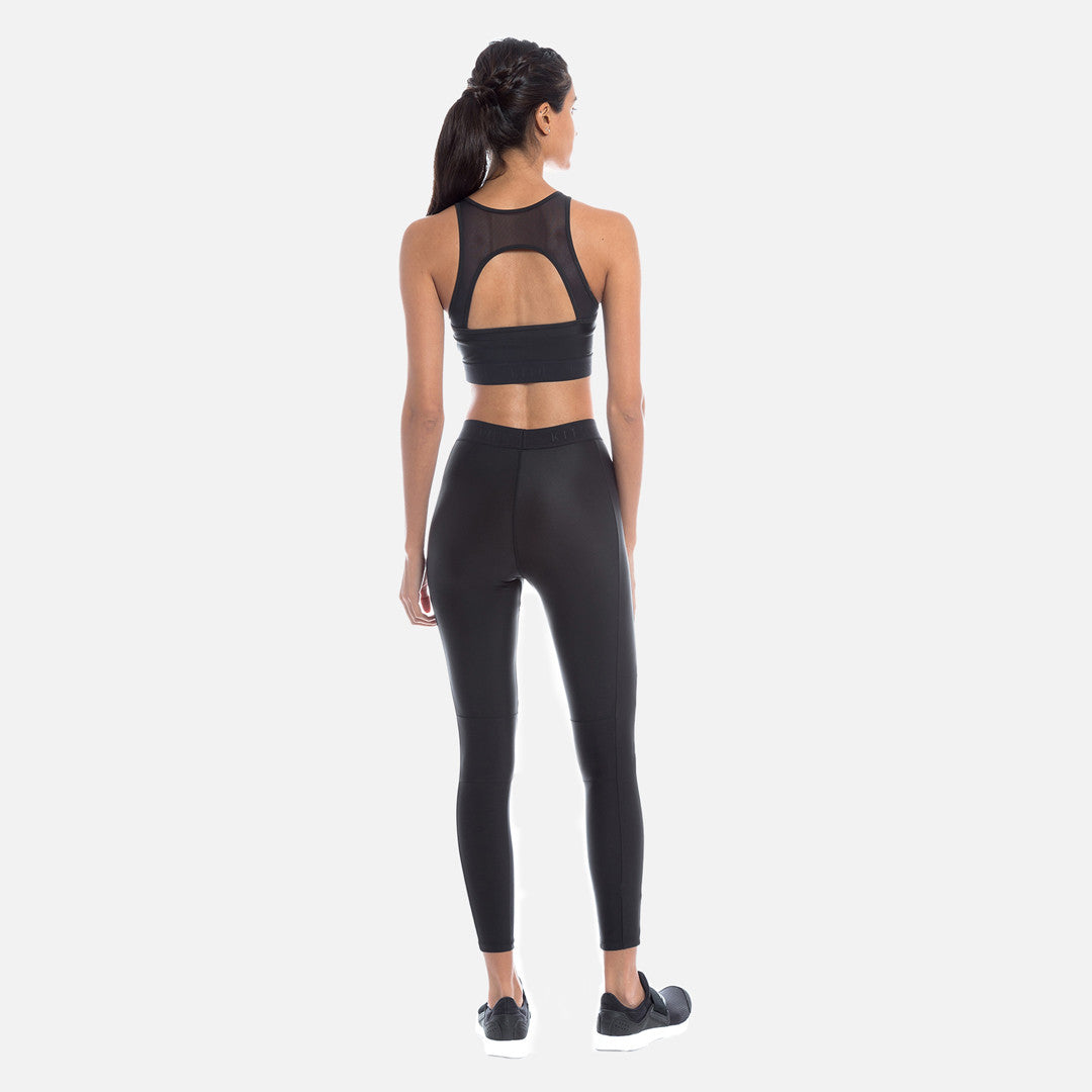 Kith Margot Cross Sports Bra - Black