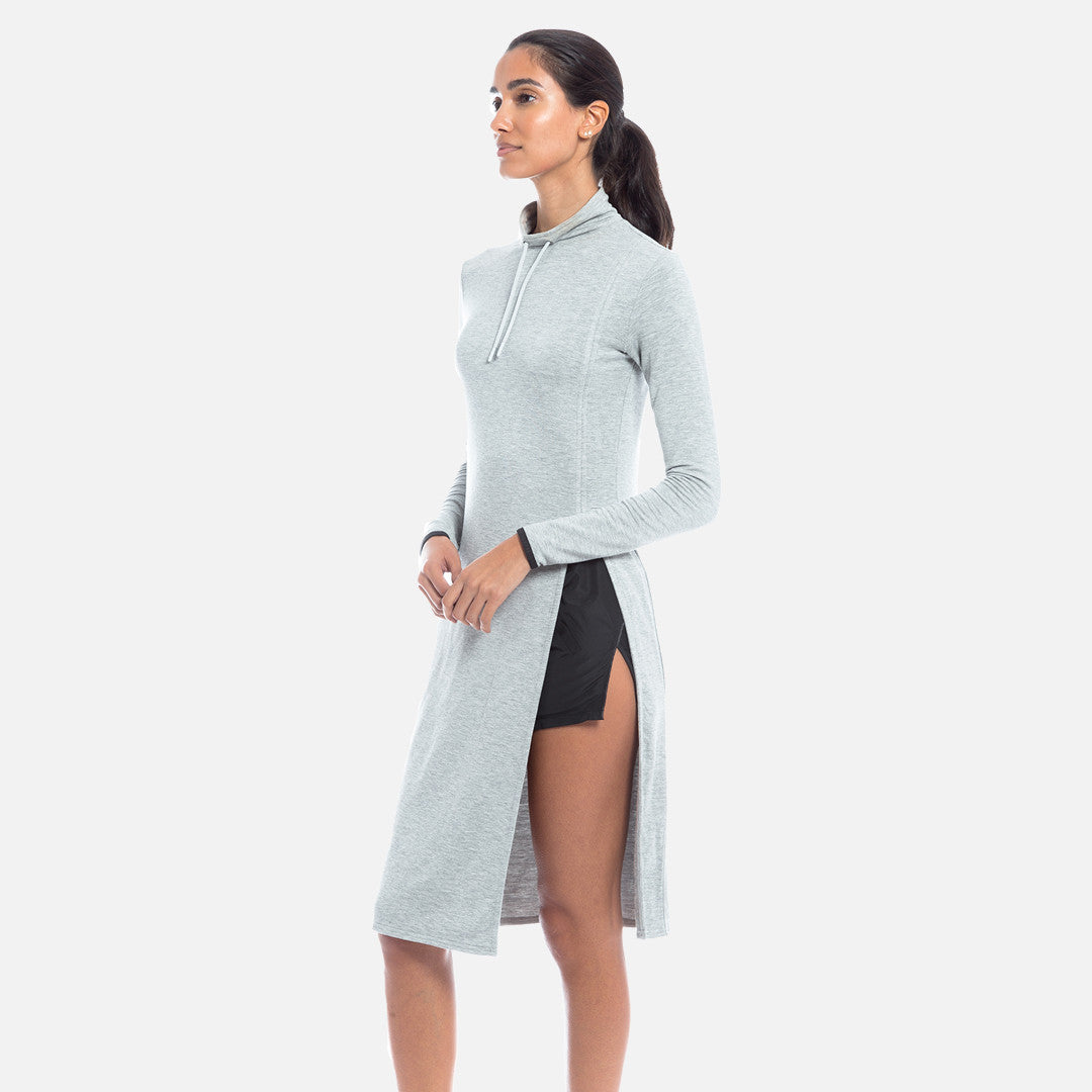Kith Aubrey Turtleneck Dress - Heather Grey