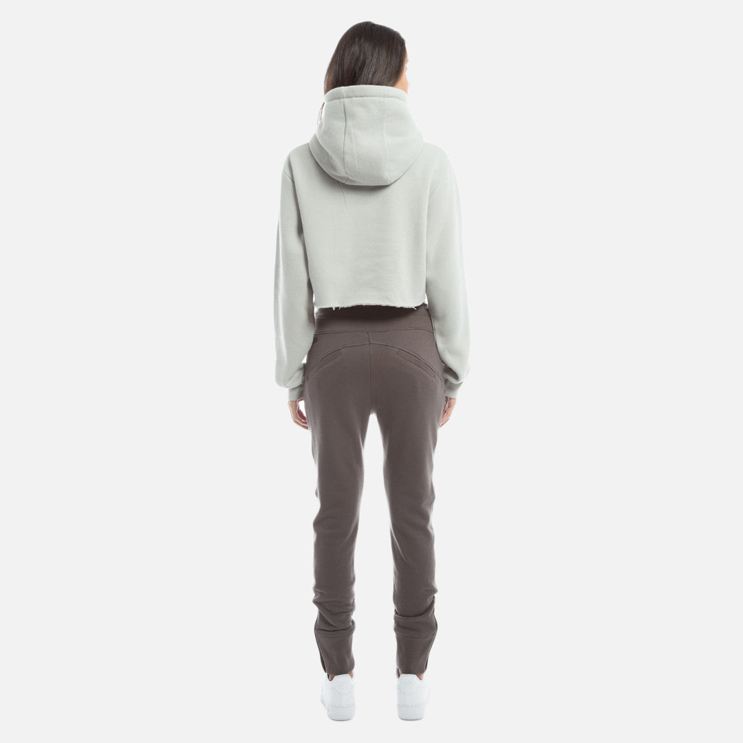 Kith Williams Cropped Hoodie - Microchip