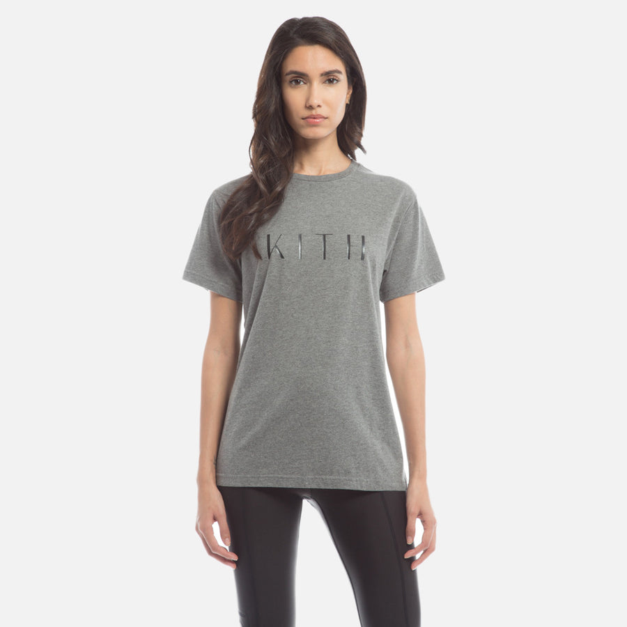 Kith Logo Tee - Dark Heather