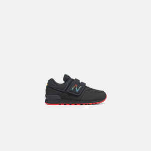 New Balance Youth 574 - Black / Multi Image 1
