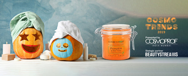 The Mighty Pumpkin for your flawless skin by COSMETOFOOD