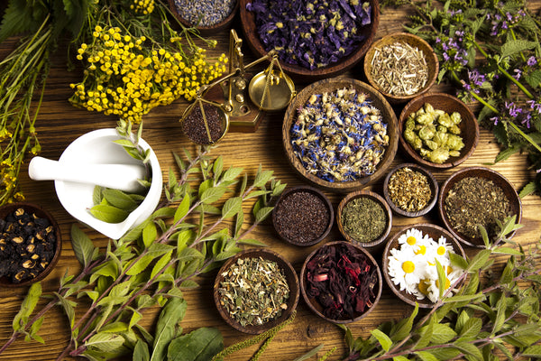 The blooming herbal cosmetics