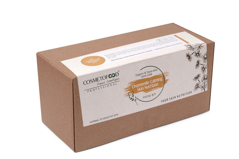 Chamomile Calming Skin Nutrition Facial Kit